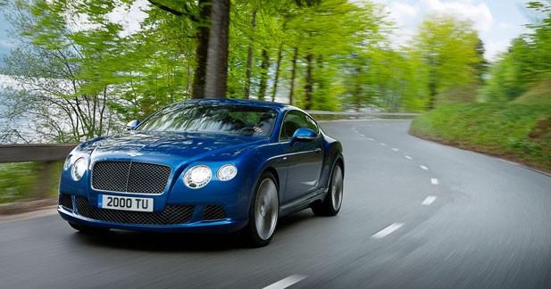 329 km/h pour la Bentley la plus rapide du monde
