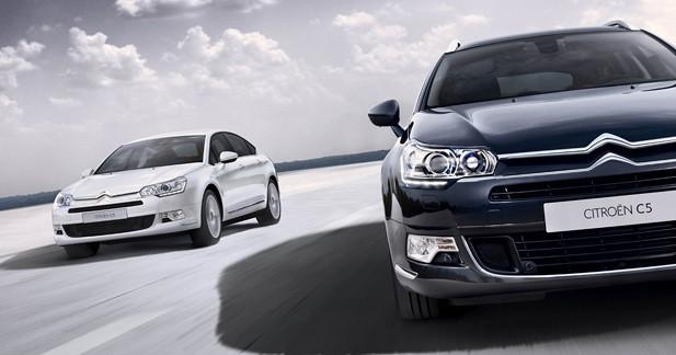 Citroën C5 : nouveaux équipements et nouvelle calandre
