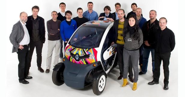 Le Renault Twizy sacré Best of the Best Product Design 2012