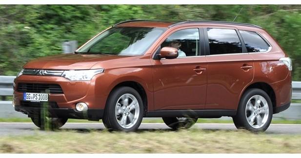 Mitsubishi dévoile les tarifs de l'Outlander
