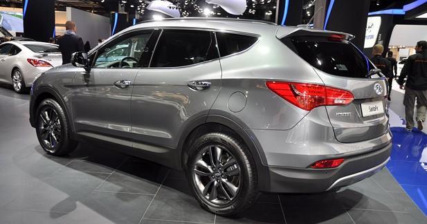 Le nouveau Hyundai Santa Fe débute à 35 900 euros