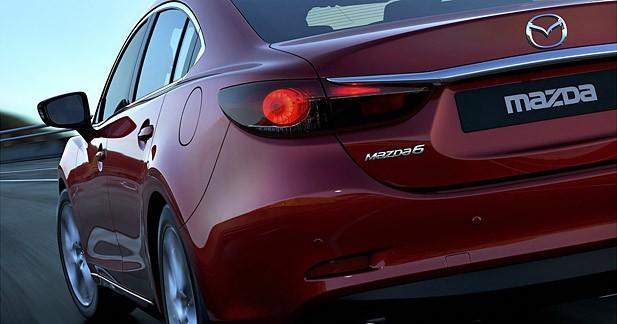 Premières photos de la Mazda6