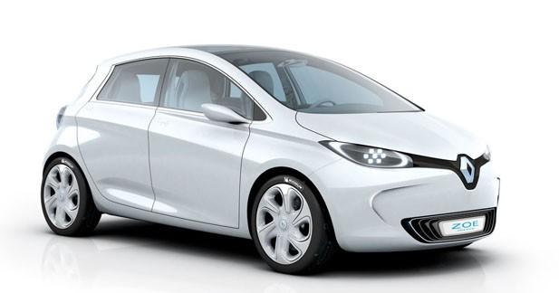 Renault commercialisera la Zoe à la fin de l'année