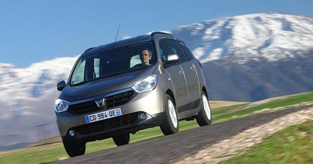 Dacia a vendu 2300 Lodgy au mois de juillet