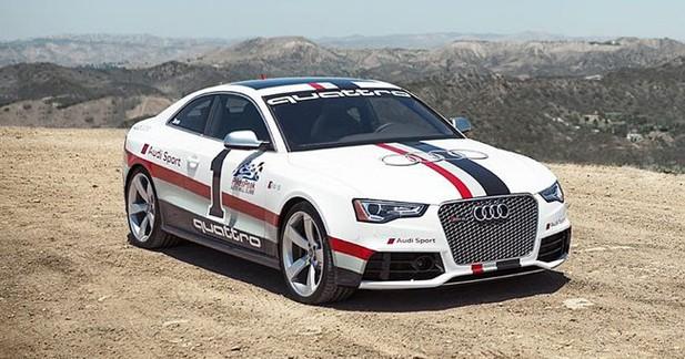 Audi : voici le coupé RS5 spécial Pikes Peak