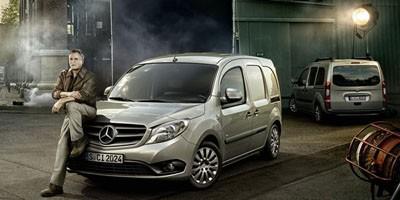 Insolite : MacGyver roule en Mercedes Citan
