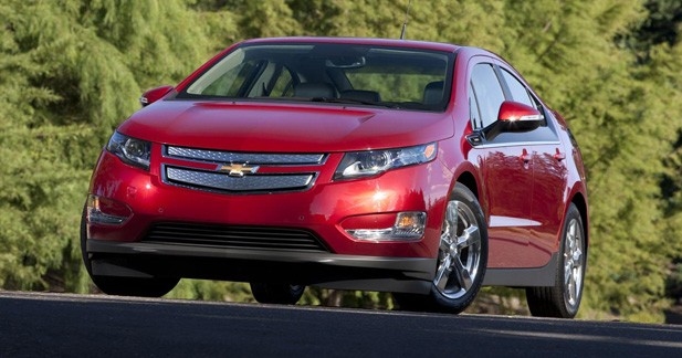 Chevrolet interrompt la production de la Volt