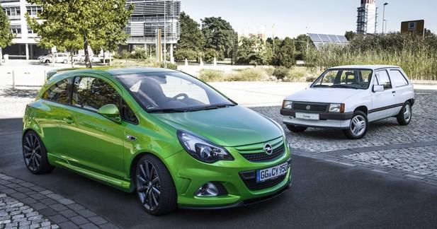 La petite Corsa d'Opel fête ses 30 ans