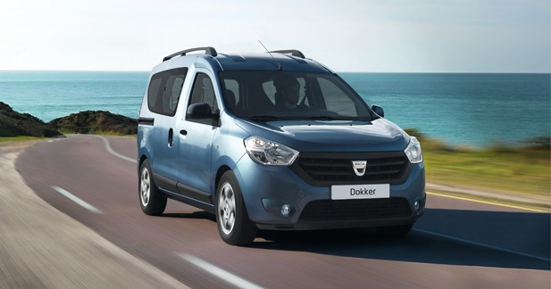 Dacia dévoile les tarifs de la gamme Dokker