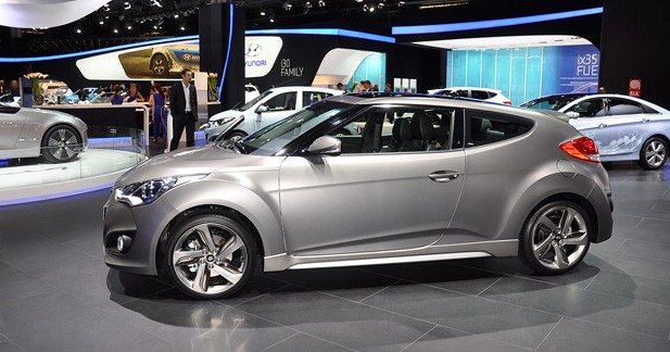 Hyundai Veloster Turbo : les tarifs
