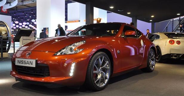 Nissan 370Z : du nouveau sur le coupé et le roadster en 2013