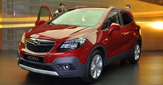 Opel Mokka : à partir de 18 990 euros