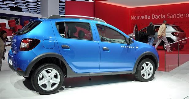 La Dacia Sandero Stepway 2 en première au Mondial