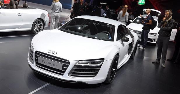 L'Audi R8 V10 Plus lâche les chevaux à Paris