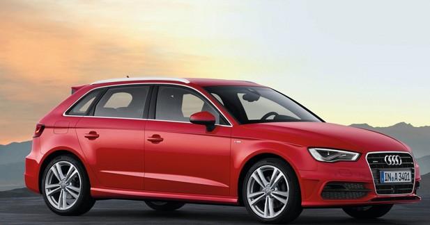 Un ticket d'entrée à 25 400 euros pour l'Audi A3 Sportback