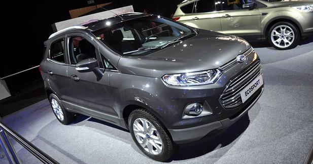 Le Ford EcoSport se frottera au Nissan Juke en 2014