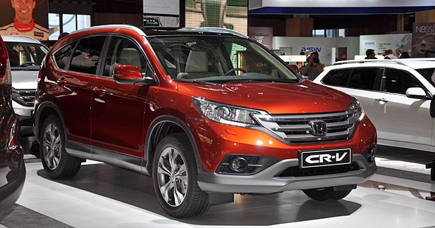 Le CR-V Honda sera disponible à partir de 25 150 euros en novembre