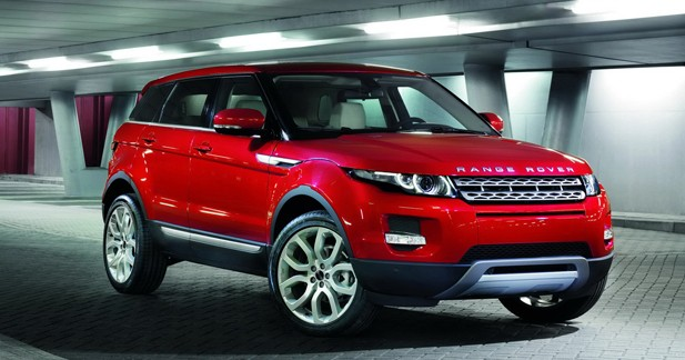 Women's World Car of the Year : le Range Rover Evoque récompensé