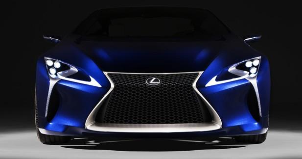 Lexus LF-LC : Tenue de soirée