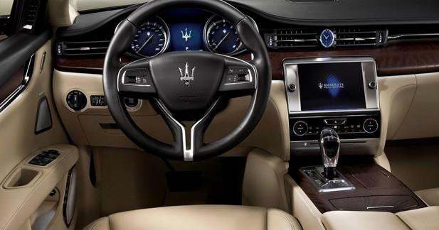 La nouvelle Maserati Quattroporte s'équipe en B&W