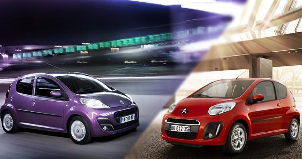 3 étoiles à l'EuroNCAP pour le trio Peugeot 107, Citroën C1 et Toyota Aygo