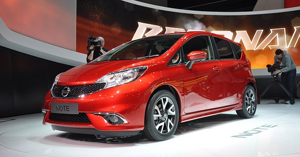 Nissan Note 2 : une note d'Invitation