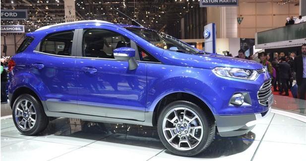 Ford EcoSport : la version européenne à Genève