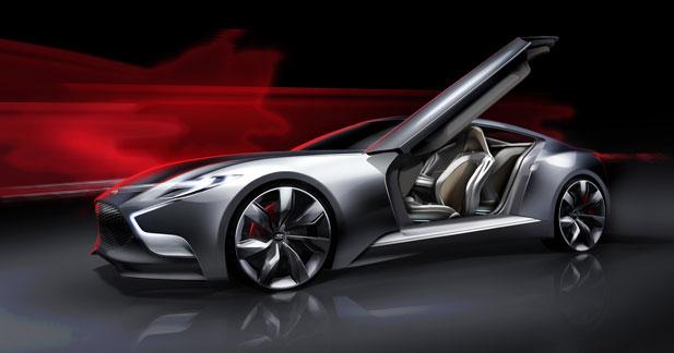Concept HND9 : le futur coupé sportif de Hyundai