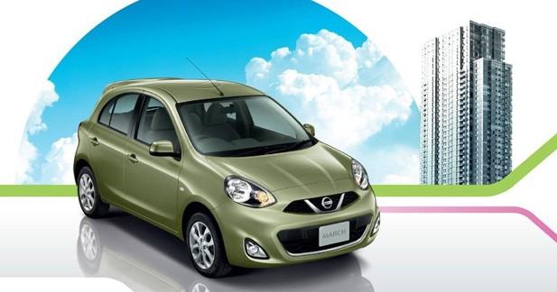 Nissan Micra : Le restylage est en March