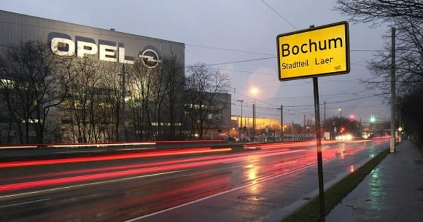 Fermeture d'usine : Opel condamne le site de Bochum