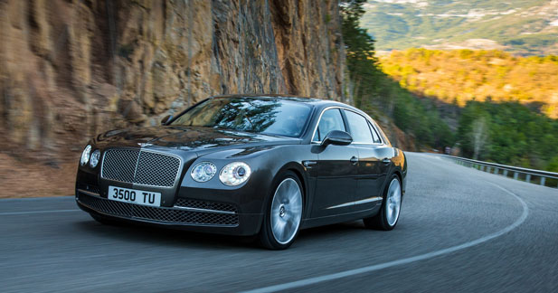 Bentley lance la nouvelle Flying Spur en Chine