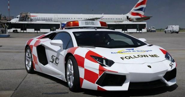 Lamborghini Aventador : reine des pistes
