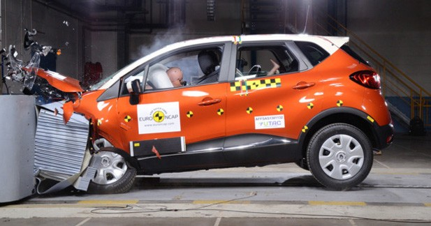 Renault Captur : demi-succès au crash-test EuroNCAP