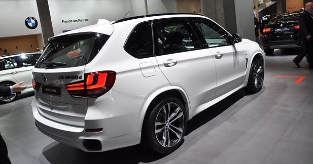 Nouveau BMW X5 : charpenté