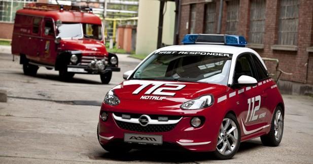 Opel Adam : nouvelle monture des soldats du feu