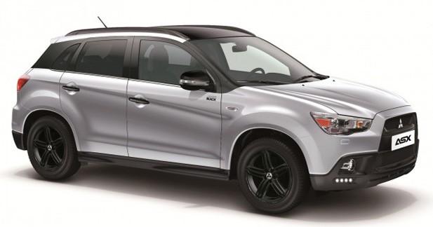 Série spéciale : Mitsubishi ASX, Pajero et L200 Sport Black