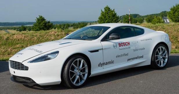 Aston Martin DB9 : l'étude hybride