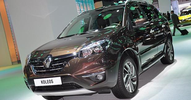 Renault Koleos restylé : le Koleos de nouveau restylé
