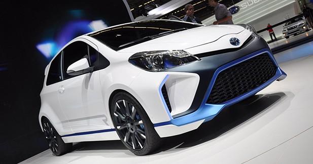 Toyota Hybrid-R : 420 chevaux dans une Yaris