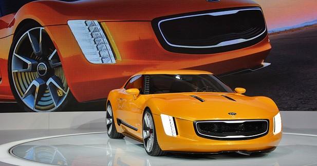 Kia GT4 Stinger Concept : Kia veut jouer (vidéo)