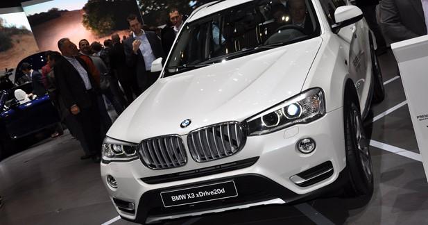 BMW X3 restylé : un peu de X5 dans le X3