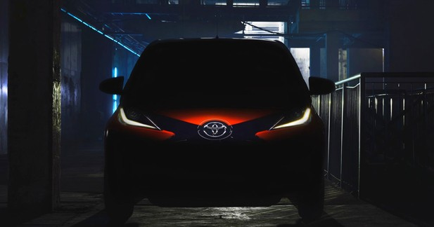 Toyota Aygo : une première photo pour Genève