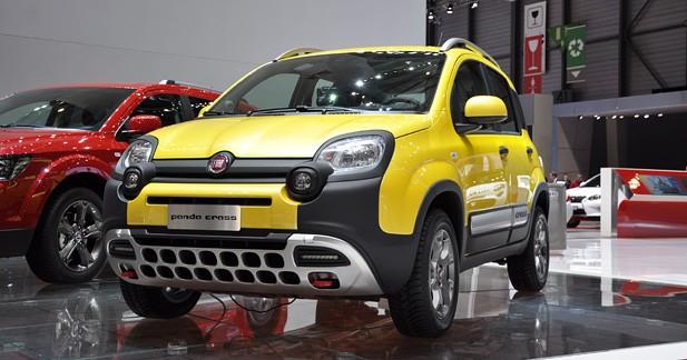 Fiat Panda Cross : la Panda 4x4 bombe le torse
