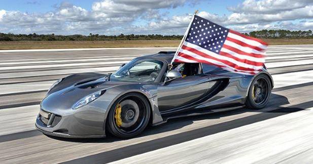 A 435,31 km/h, la Hennessey Venom GT est la plus rapide du monde