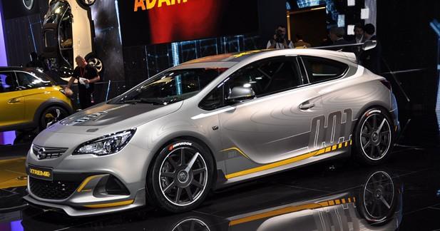 Opel Astra OPC Extreme : le sport et rien d'autre