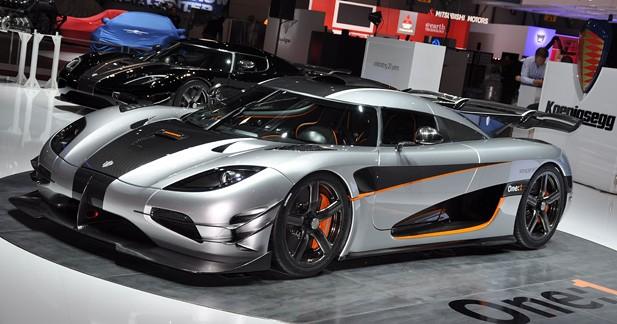 Et Koenigsegg créa la ''megacar''