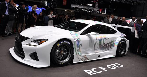 Lexus RC F GT3 : Il va y avoir du sport