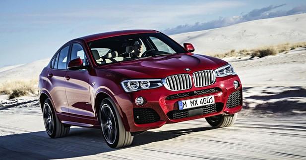 Nouveau BMW X4 : le baby X6 arrive