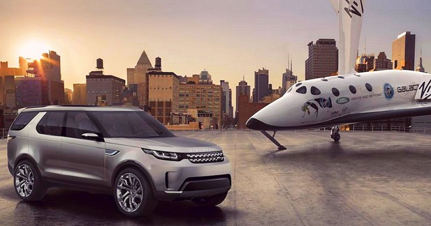 Concept Land Rover Discovery Vision : visions multiples