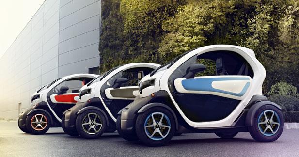 La Renault Twizy démarre plus fort que prévu chez Renault